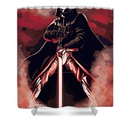 Star Wars Heroes Art Shower Curtain