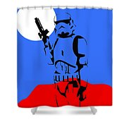 Star Wars Stormtrooper Collection Shower Curtain