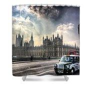 Westminster Bridge London Shower Curtain