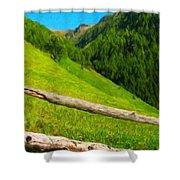Nature Landscape Art Shower Curtain
