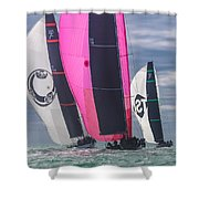Key West Race Week Shower Curtain