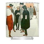 12264 Rafael De Penagos Shower Curtain