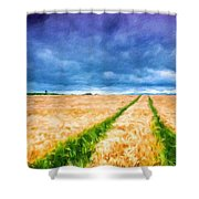 Types Of Landscape Nature Shower Curtain