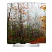 Nature Landscape Artwork Shower Curtain