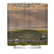Sunny Transcarpathia Shower Curtain