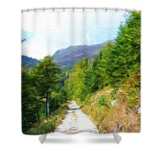 Nature Oil Painting Landscape Images Shower Curtain