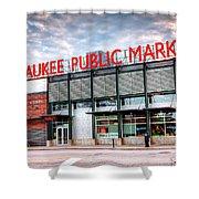 1275 Milwaukee Public Market Shower Curtain