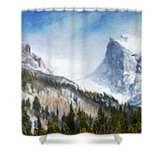 Landscape Art Nature Shower Curtain
