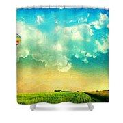 Nature Landscape Art Shower Curtain