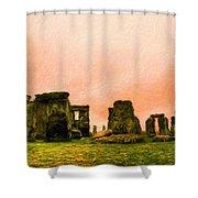 Nature Landscape Work Shower Curtain