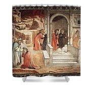12dispu Fra Filippo Lippi Shower Curtain