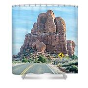 Arches National Park  Moab  Utah  Usa Shower Curtain