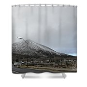 Arizona Mountain Landscape Shower Curtain