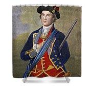 George Washington Shower Curtain by Granger