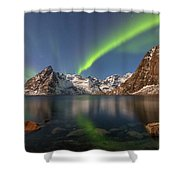 Hamnoy Lofoten - Norway Shower Curtain