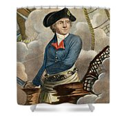 John Paul Jones, 1747-1792 Shower Curtain