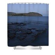 Kimmeridge Bay In Dorset Shower Curtain