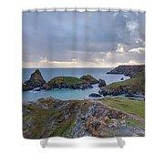 Kynance Cove - England Shower Curtain