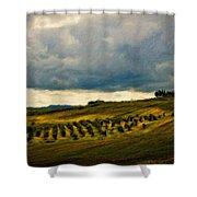 Landscape Planting Shower Curtain