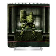 Metal Gear Shower Curtain