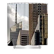 New York Shower Curtain by Juergen Held