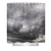 Non Severe Nebraska Thunderstorms Shower Curtain