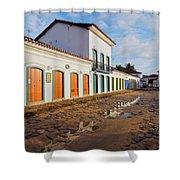 Paraty, Brazil Shower Curtain