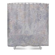 Old Man Shower Curtain