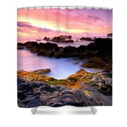 Scenery Oil Paintings On Canvas Shower Curtain
