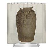 Stoneware Jar Shower Curtain