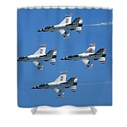 Usaf Thunderbirds Shower Curtain