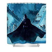 Video Star Wars Poster Shower Curtain