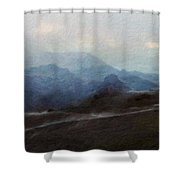 Nature Landscape Artwork Shower Curtain