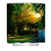 Nature Landscapes Prints Shower Curtain