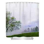 Landscape Nature Pictures Shower Curtain