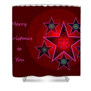 1339 Merry Christmas To You 2018 Shower Curtain