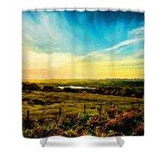 Landscape Nature Scene Shower Curtain