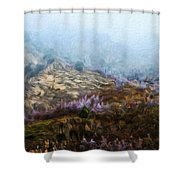 Oil Paintings Art Landscape Nature Shower Curtain