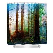 A Landscape Nature Shower Curtain