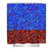 1380 Abstract Thought Shower Curtain