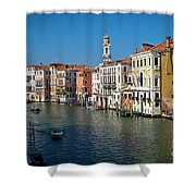 1399 Venice Grand Canal Shower Curtain