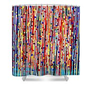 14-19 Purple Forest Shower Curtain