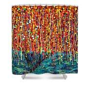 14-50 Autumn Tree Shower Curtain