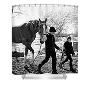 Amish Life Shower Curtain