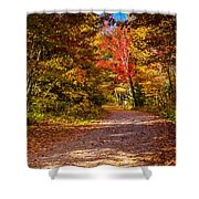 Autumn Season In Killarney Shower Curtain