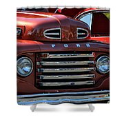 Classic Ford Pickup Shower Curtain