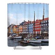 Copenhagen - Denmark Shower Curtain