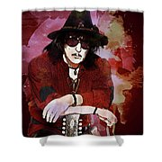 Deep Purple. Ritchie Blackmore. Shower Curtain
