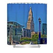 Downtown Hartford Shower Curtain