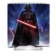 Episode 1 Star Wars Poster Shower Curtain